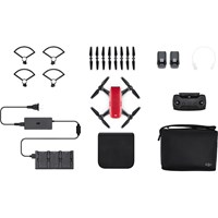 DJI Spark Quadcopter Mini Drone with Camera (Lava Red) Fly More Combo Pack