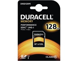 Duracell   128GB UHS-1 (U1) SD Card