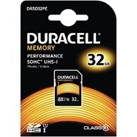 Duracell 32GB SDHC Class 10 UHS-1