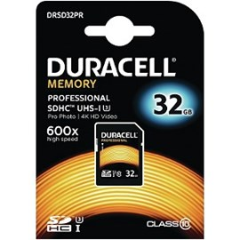 Duracell   32GB UHS-3 (U3) SD Card