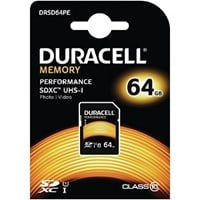 Duracell 64GB SDXC Class 10 UHS-1
