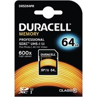 Duracell 64GB SDXC Class 10 UHS-3