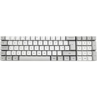 Vortex ViBE USB Mechanical Keyboard in Silver with Cherry MX Speed Silver Switches