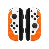 Lizard Skins DSP Controller Grip for Nintendo Switch Joy-cons in Tangerine
