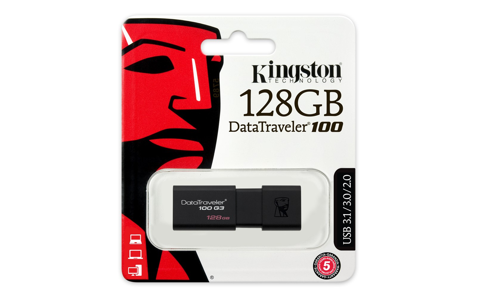 Key Features 128GB Memory USB 3 0