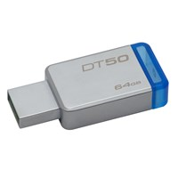 Kingston DataTraveler 50 64GB USB 3.0 Flash Stick Pen Memory Drive