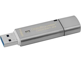 Kingston DataTraveler Locker+ G3 128GB USB 3.0