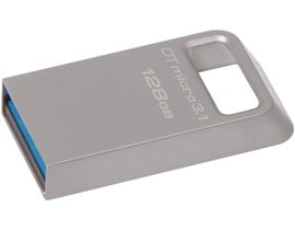 Kingston DataTravler Micro 3.1 128GB USB 3.0 Drive