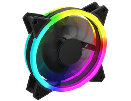 GameMax Velocity 120mm Rainbow ARGB Fan