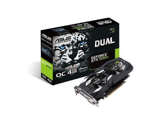 ASUS GeForce GTX 1050 Ti Dual 4GB Graphics Card