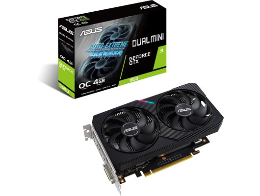 ASUS GeForce GTX 1650 Mini 4GB OC GPU