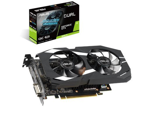 ASUS GeForce GTX 1660 Ti Dual 6GB Graphics Card