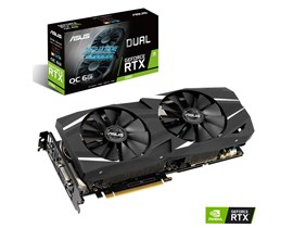 ASUS GeForce RTX 2060 Dual 6GB Graphics Card