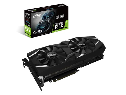 ASUS GeForce RTX 2080 Dual 8GB Graphics Card