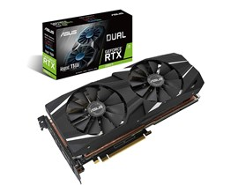 ASUS GeForce RTX 2080 Ti Dual 11GB Graphics Card