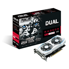 ASUS Radeon RX 460 Dual 2GB Graphics Card