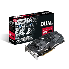 ASUS Radeon RX 580 Dual 4GB Graphics Card
