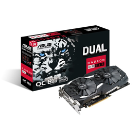 ASUS Radeon RX 580 Dual 8GB Graphics Card