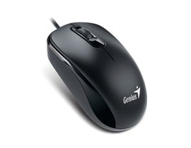 Genius DX-110 Black PS2 Full Size Optical Mouse