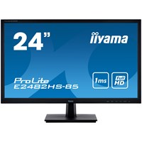 iiyama ProLite E2482HS 24 inch LED 1ms Monitor - Full HD, 1ms, HDMI