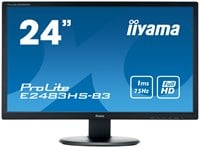 iiyama ProLite E2483HS-B3 24 inch LED 1ms Monitor - Full HD, 1ms