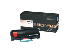 Lexmark Remanufactured Black Toner Cartridge for E260 Printers