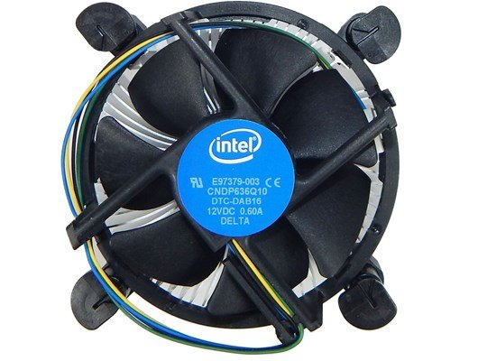 Intel Stock CPU Cooler for Socket 115x Processors (OEM)