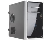 Inwin EM020 Micro ATX Screwless Black/Silver Case