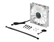 AeroCool Shark 12cm Quad White LED Fan