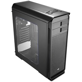 Aero Cool Aero-500 Mid Tower Gaming Case - Black