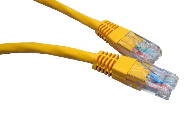ccl choice 10m cat6 patch cable yellow ert 610y ccl computers. Black Bedroom Furniture Sets. Home Design Ideas