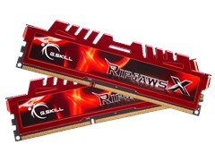 8GB G.Skill Ripjaws-X F3-10666CL9S-8GBXL 1333MHz DDR3
