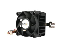StarTech.com 50x50x41mm Socket 7/370 CPU Cooler Fan w/ Heatsink and TX3 and LP4