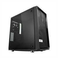 Fractal Design Meshify C Mini Dark TG Mid Tower Micro-ATX Case in Black with Tempered Glass *Open Box*