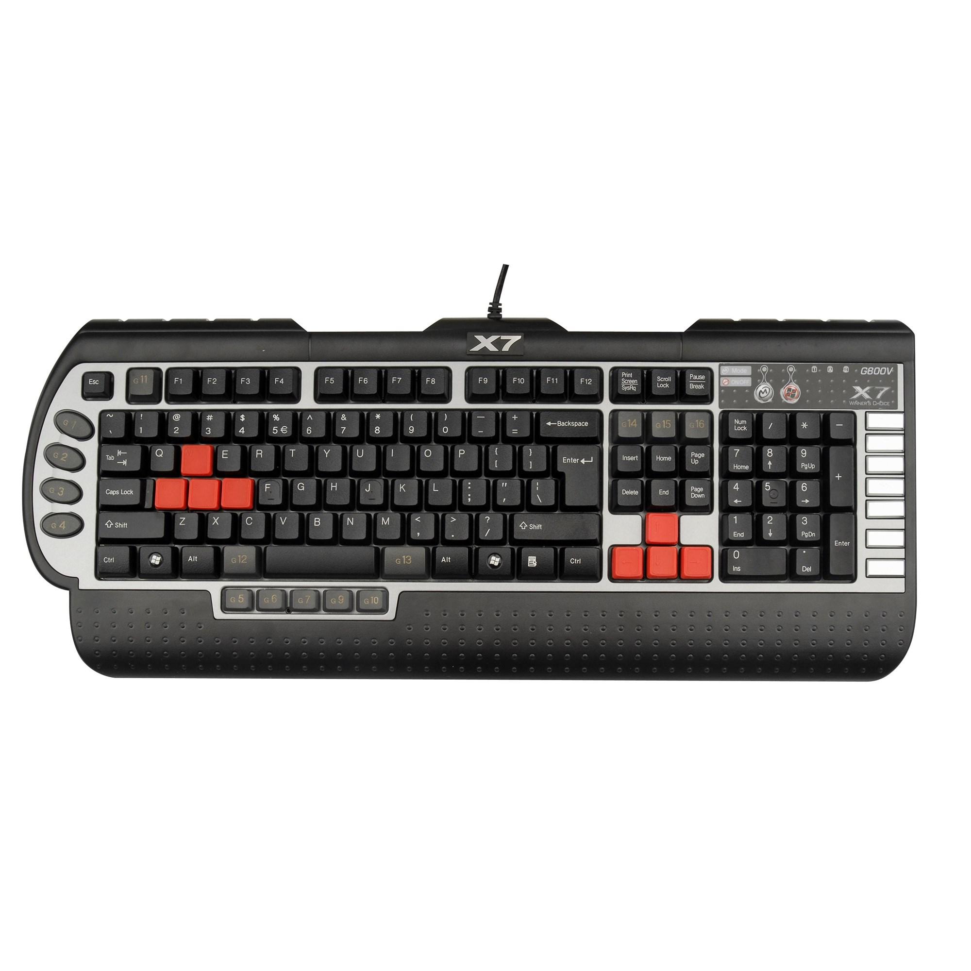 a4 tech x7 g800v gaming keyboard