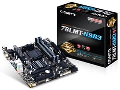 Gigabyte GA-78LMT-USB3 Motherboard Phenom II AMD Athlon II Socket AM3 AMD 760G Micro ATX RAID Gigabit Ethernet (rev. 4.1)