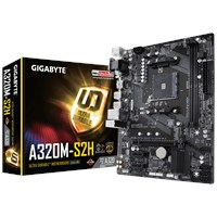 Gigabyte A320M-S2H mATX Motherboard for AMD AM4 CPUs