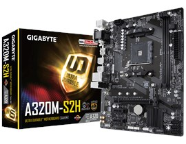 Gigabyte A320M-S2H AMD Socket AM4 Motherboard