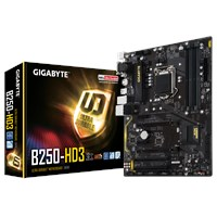 Gigabyte B250-HD3 ATX Motherboard for Intel LGA1151 CPUs