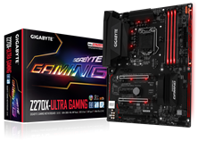 Gigabyte Z270X-Ultra Gaming Intel Socket 1151