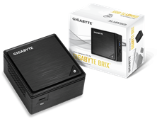 Gigabyte BRIX BPCE-3455 Ultra Compact PC Kit Intel Celeron J3455 (2.3 GHz) WLAN Gigabit LAN (Intel HD Graphics 500)