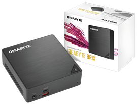 Gigabyte Brix Mini PC Barebone with Intel Core i7-8550U Processor