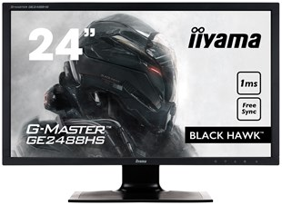 "Iiyama G-Master Black Hawk 24"" Full HD LED Monitor"