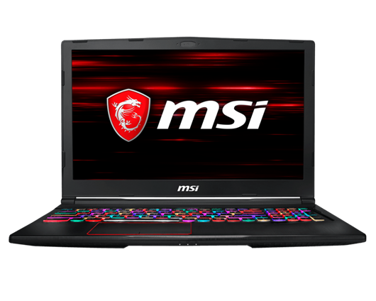 "MSI GE63 Raider RGB 8RE 15.6"" 16GB Core i7 Laptop"