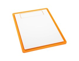 BitFenix Solid Front Panel for Prodigy Case - White/Orange