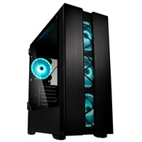 Kolink Phalanx Mid Tower Gaming Case - Black USB 3.0