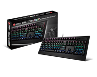 MSI GK-701 RGB Mechanical Gaming Keyboard (UK Layout)