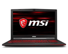 "MSI GL63 8RC 15.6"" 8GB 1TB Core i5 Laptop"