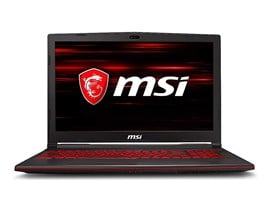 "MSI GL63 9SD 15.6"" 16GB 1TB Core i7 Gaming Laptop"