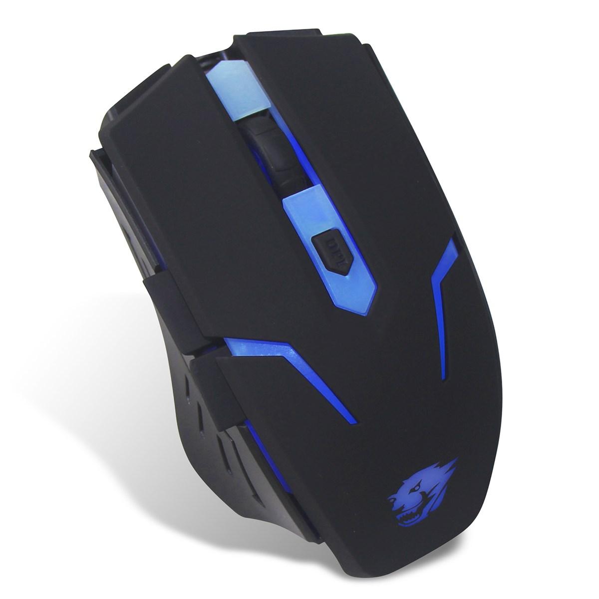 Powercool Usb Gaming Mouse With Blue Led Illumination 1 5m